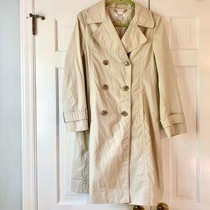 Women's H&M trench coat sz 6